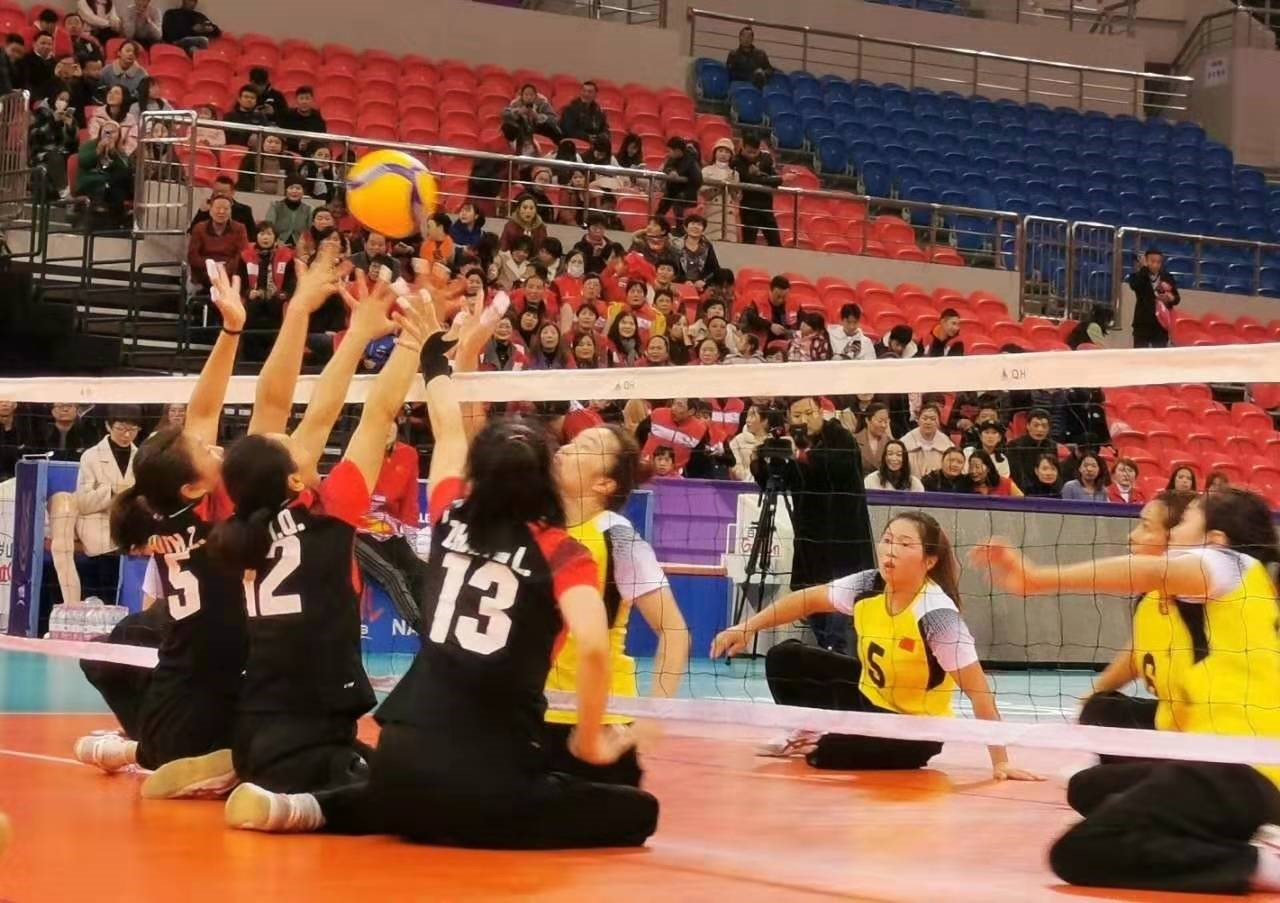 "ParaVolley Asia Oceania creating the first historic of ""The same volleyball, the same dream""!"